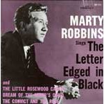 The Letter Edged In Black
