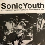 Live At Liberty Lunch Austin, Tx. November 26, 1988