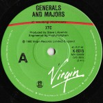 Generals and Majors / The Somnambulist