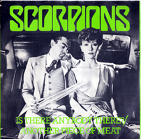 SCORPIONS - Is There Anybody There?/another Piece Of Meat