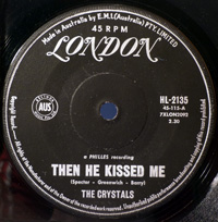 Then He Kissed Me / Brother Julius - CRYSTALS
