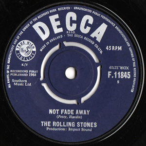 ROLLING STONES - Not Fade Away / Little By Little Album