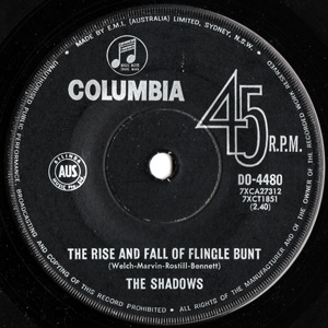 SHADOWS - The Rise And Fall Of Flingle Bunt / It's A Man's World