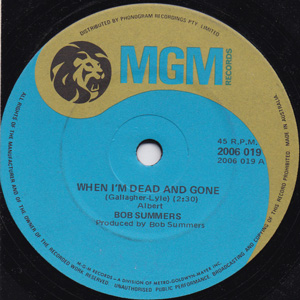 When I'm Dead And Gone